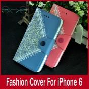 Чохол стильний гаманець книжка Iphone 6