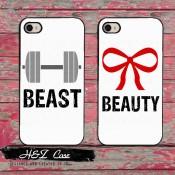 Чохол модний Beast & Beauty Iphone 5/5s/6/6 plus