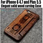Чохол дерев'яний дизайнерський Iphone 6/6 plus