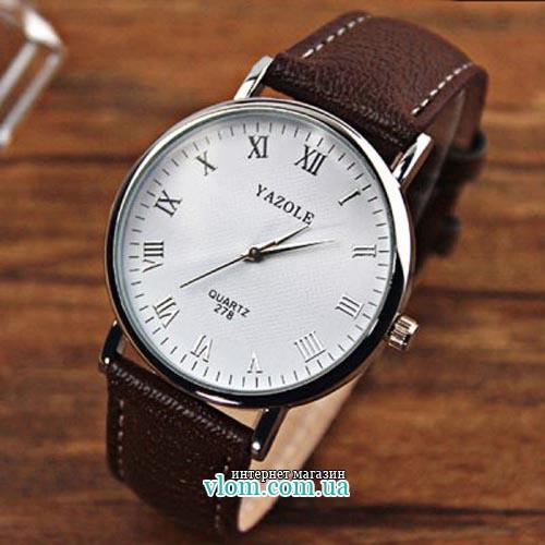 Купити недорого в інтернет магазині чоловічий годинник Yazole 278 62d9a7f39b812