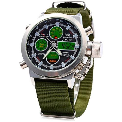 Купити в інтернет магазині недорого чоловічий військовий годинник ... bb7c56d0650d2