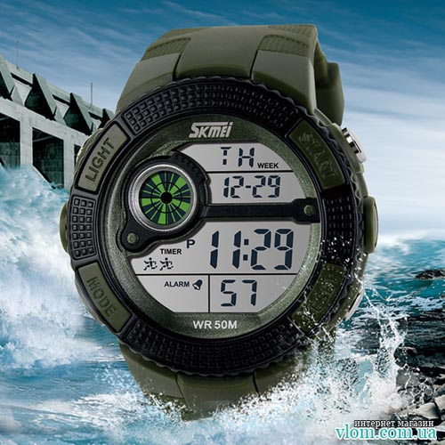 Чоловічий військовий годинник  Skmei 1027
