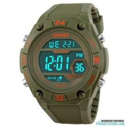 Чоловічий військовий електронний годинник Skmei 1093