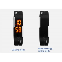 Чоловічий LED годинник  браслет Skmei 1099
