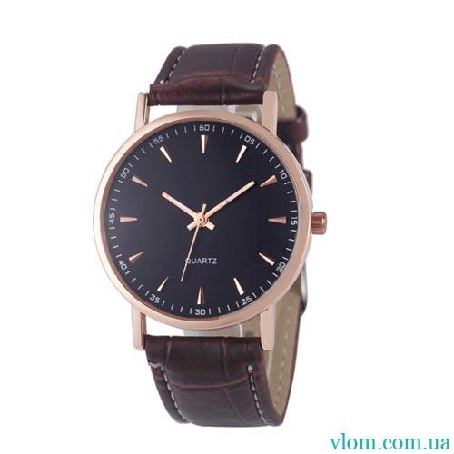 Чоловічий годинник стиль мінімалізм