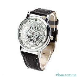 Чоловічий годинник стиль Skeleton