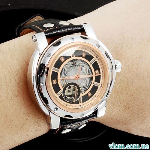 Чоловічий годинник механіка Forsining sport