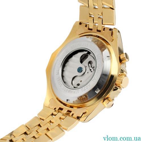 Чоловічий годинник механіка Jaragar Military Steel