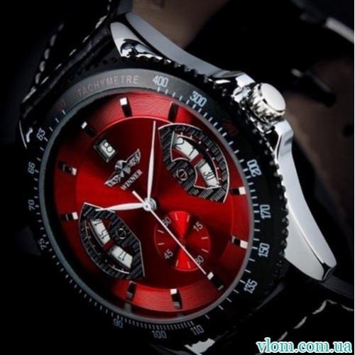 Чоловічий годинник механіка Winner automatic