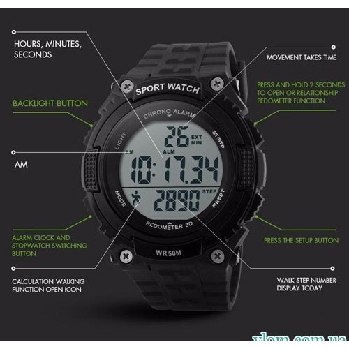 Купити в інтернет магазині недорого чоловічий годинник Skmei 1112 з ... f6f96e5c92d5c