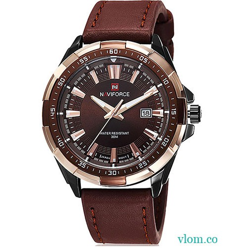 Купити недорого в інтернет магазині чоловічий годинник Naviforce NF9056 f95694fafa97e