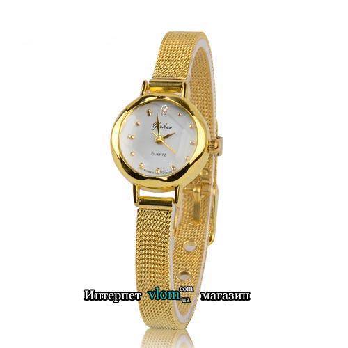 Купити в інтернет магазині недорого жіночий золотий годинник Yuhao 70c67de4dc256