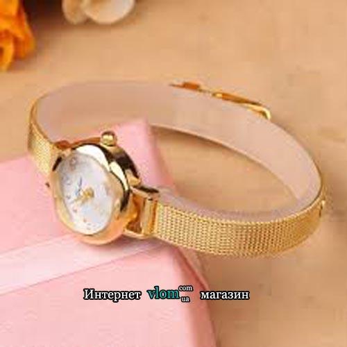 Жіночий золотий годинник Yuhao