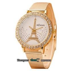 Жіночий золотий годинник Hoans