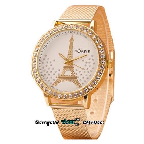 Купити в інтернет магазині недорого жіночий золотий годинник Hoans 6edf5e11aae50