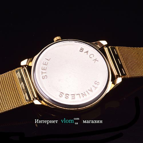 Жіночий золотий годинник Michael Kors стрази
