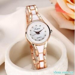 Жіночий годинник Lvpai білі