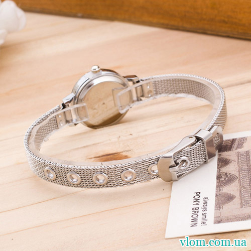 Жіночий годинник Relogio Feminino Silver