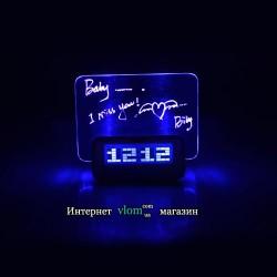 Настільний годинники Highstar з дошкою для запису