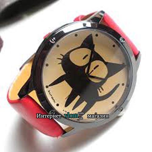 Годинник Чорний кіт
