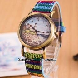 Годинник барвистий Маяк