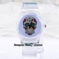 Годинник Череп Хіппі
