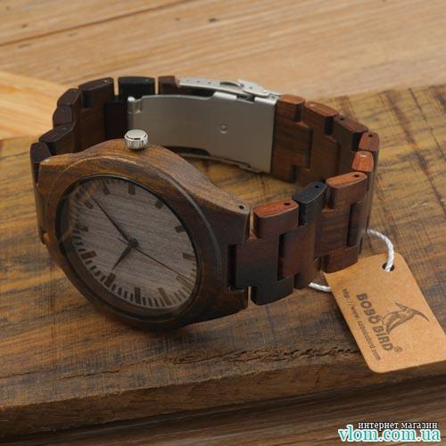 Дерев'яний годинник BoBo Bird WD009