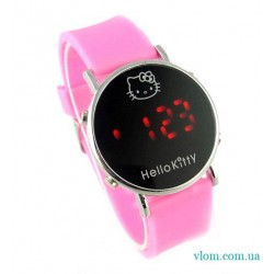Для дитини електронний годинник Hello Kitty для дівчинки
