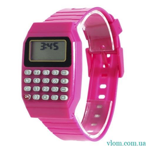 Для дитини електронні наручний годинник Калькулятор