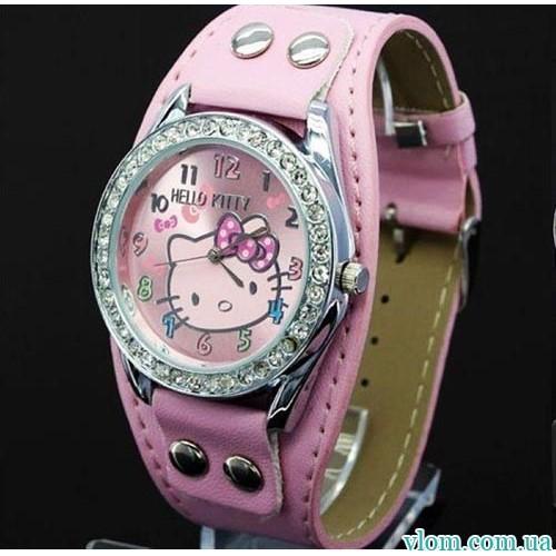 Для дитини кварцові годинники Hello Kitty рок для дівчинки 0a389be9bef4c