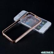Чохол еллегантний бампер зі стразами на Iphone 5/5s