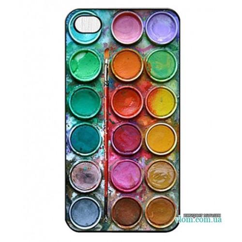 Чохол палітра кольорів на Iphone 6 plus
