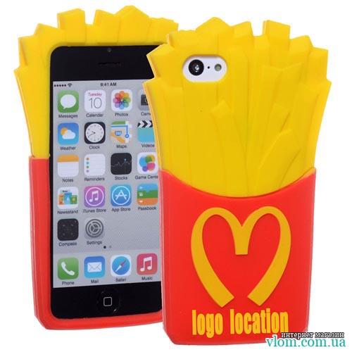 Чохол картопля фрі Mcdonalds Iphone 6 / 6s