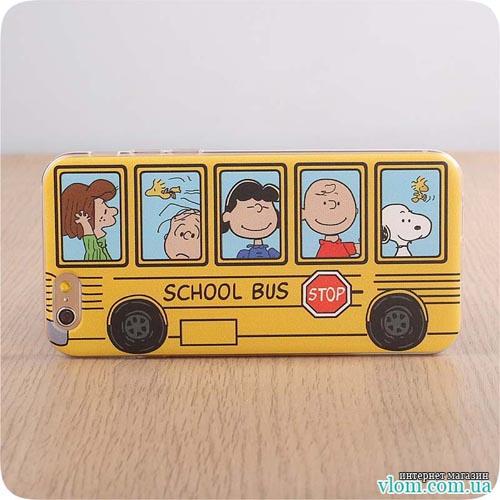 Чохол шкільний автобус Iphone 6 / 6s