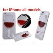 Чохол келих вина рідина Iphone 6 / 6s