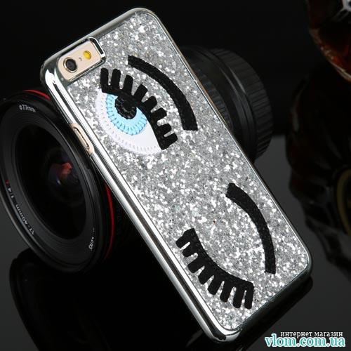 Чохол очі стрази Iphone 6 / 6s