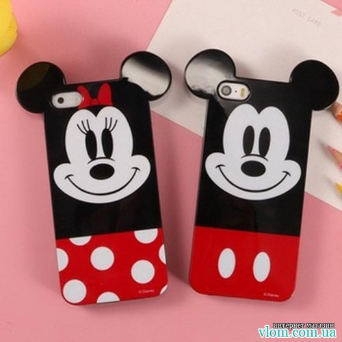 Чохол веселий Mickey Iphone 5 / 5s