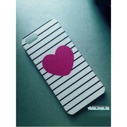 Чохол Love серце Iphone 5 / 5s