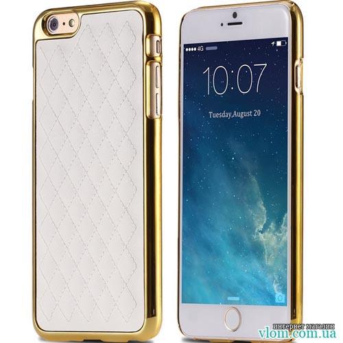 Чохол бампер зі шкірою Iphone 6 / 6s