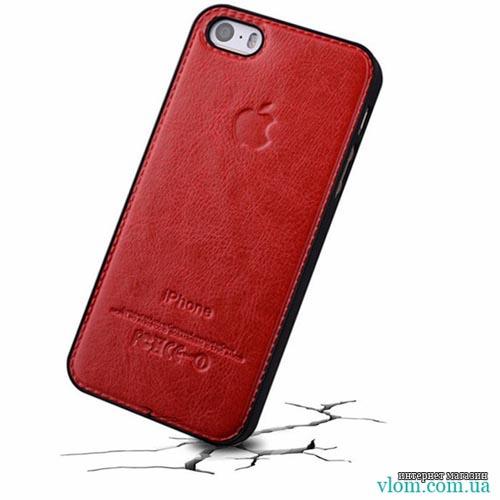 Чохол шкіряний бампер Iphone 5 / 5s
