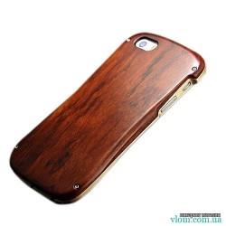 Чохол алюміній дерево бампер Iphone 5 / 5s