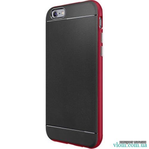Чохол ребристий червоний spigen на Iphone 6/6s