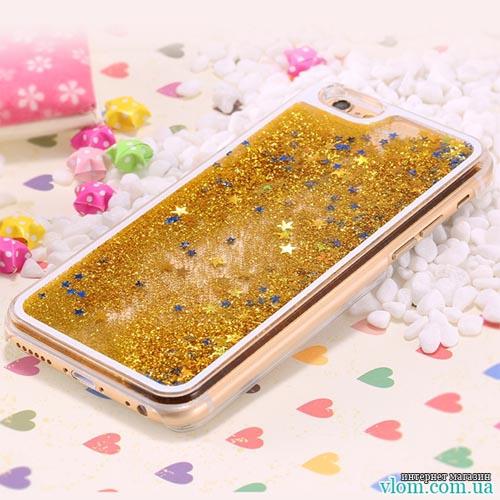 Чохол стружка зірки на Iphone 6/6s