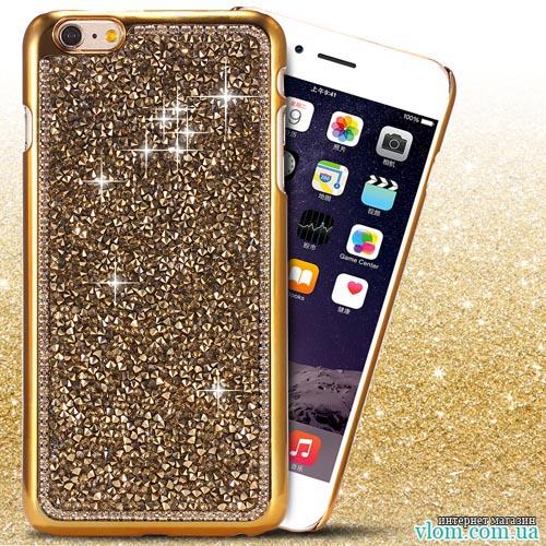 Чохол ультра золотий на Iphone 6/6s