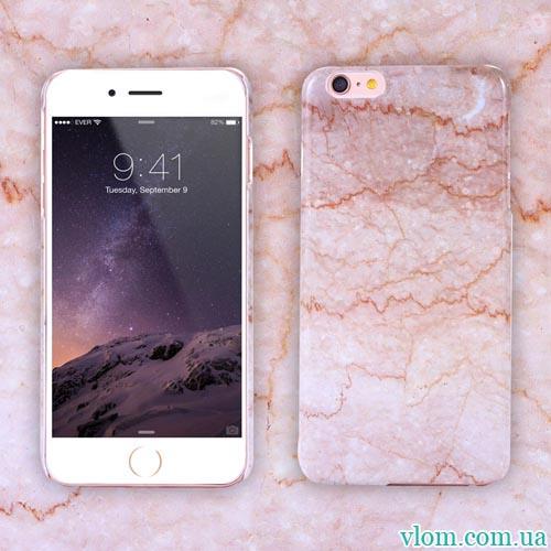Чохол Рожевий кварц на Iphone 6 plus