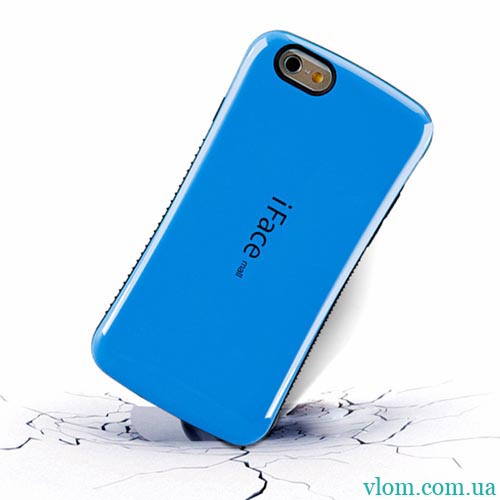 Чохол iFace синій на Iphone 6/6s