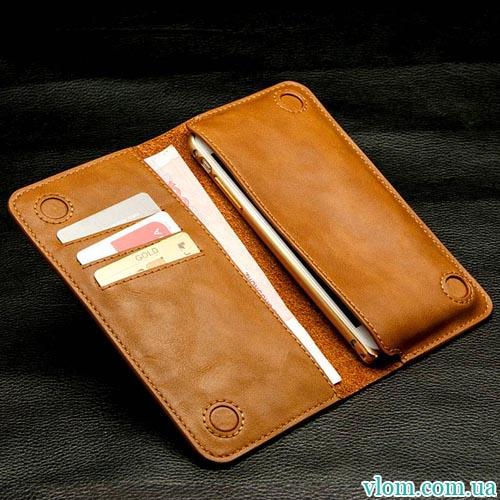Чохол Jisoncase шкіряний гаманець на Iphone 6/6s