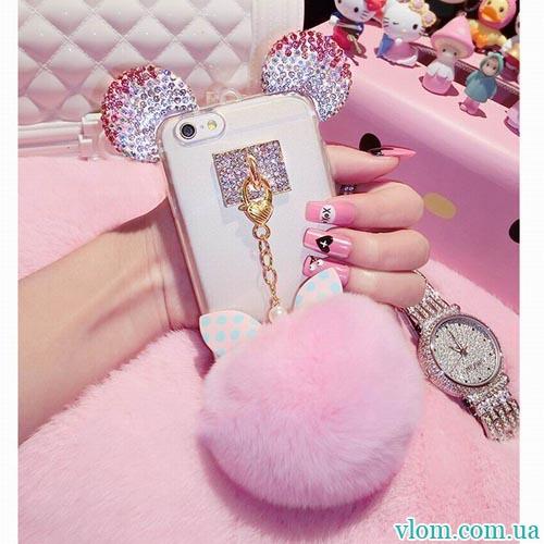Чохол Crystal Mickey на Iphone 6 plus