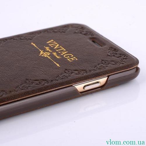 Чохол flip Vintage на Iphone 6 plus