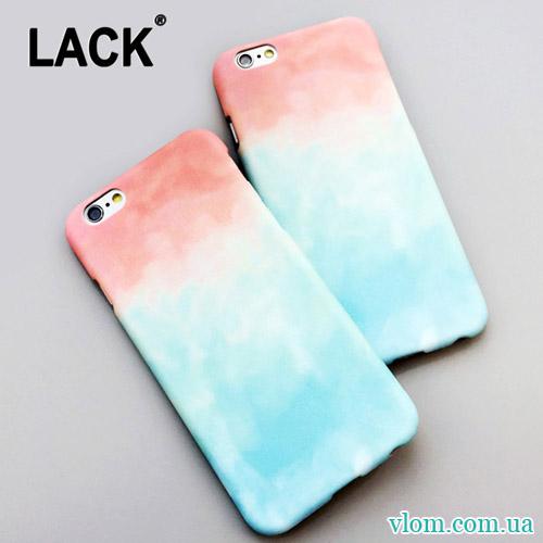 Чохол Градієнт Lack for iPhone 6/6s